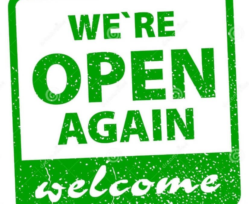 GREEN REOPENING from 5pm on 23 July