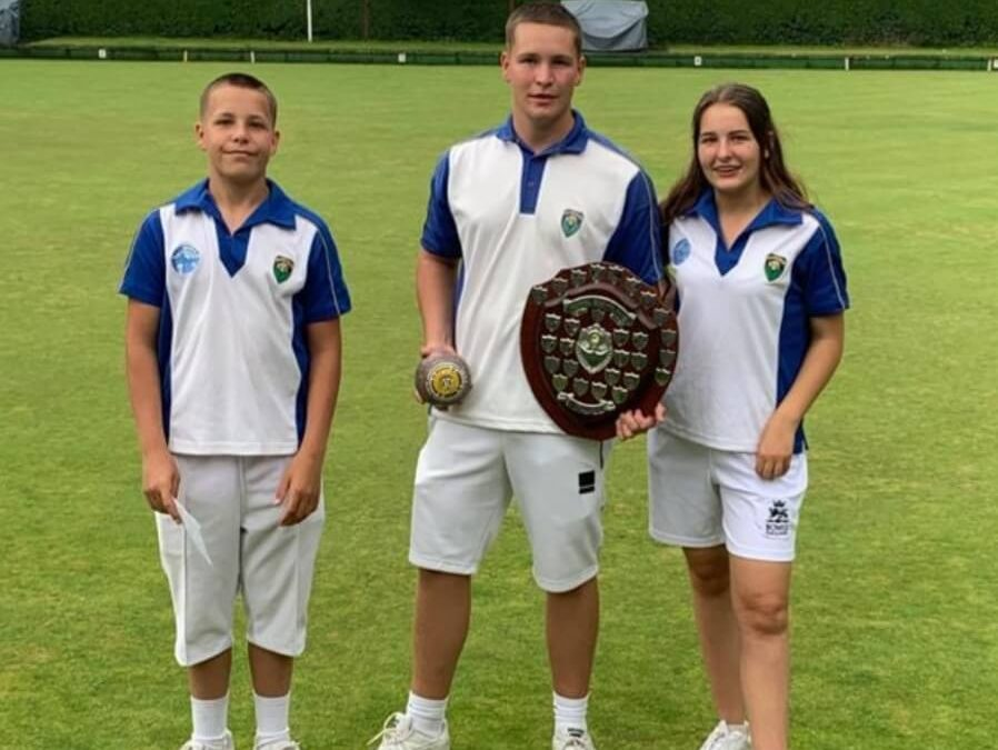 Chipstead's Youth Section wins Arundel Triples Day